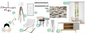 Shopping Listes Déco ambiance contemporain Maison du monde